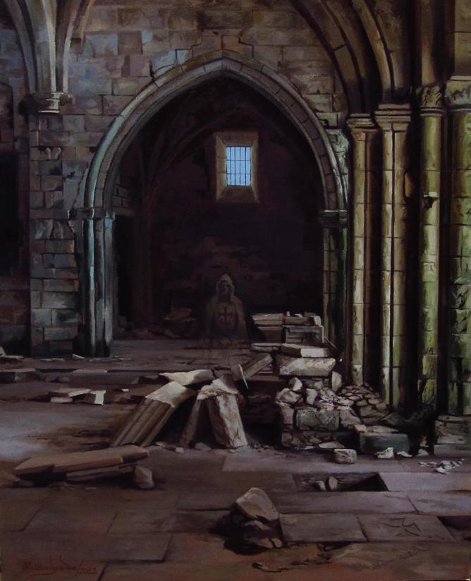 Templario en Ruinas
