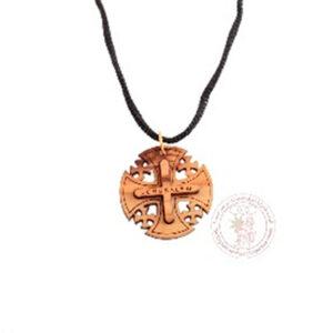 Colgante con Cruz de Jerusalén